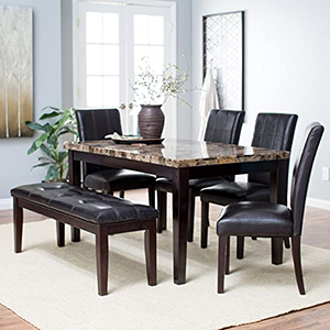 Dining tables, chairs and furniture